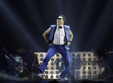 Psy's Gangnam Style was a massive success on YouTube and has amassed 2.24 billion views since it was uploaded in 2012.