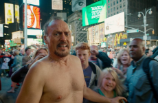 Here's how Birdman shot that crazy scene of Michael Keaton in Times Square in his underwear