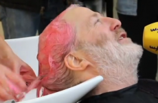 WATCH: Mick Wallace has dyed his hair pink