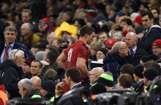 'Not concussed' George North stood down by Wales for Scotland clash