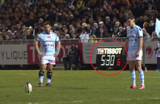 Time's up, Johnny! Sexton caught out by the Top 14 'kicking clock'