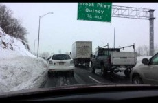The States' snowpocalypse is leaving some unexpected obstructions on the road