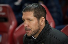 Atletico Madrid's hopes of retaining the La Liga title were dealt a significant blow tonight