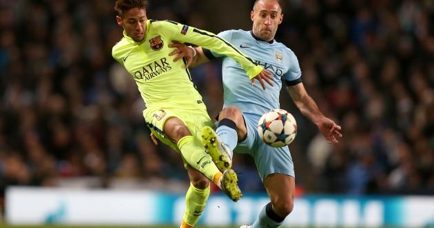 As it happened: Man City v Barcelona, Champions League