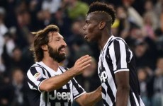 'Pogba the best in Italy, but Pirlo is a football doctor'