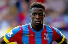 Wilfried Zaha has been 'damaged' by Manchester United