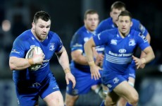 One of Leinster's rampaging wrecking balls is set for his first start since September