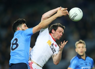 O'Sullivan came off the bench in the draw with Tyrone last weekend.