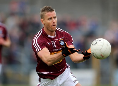 Denis Glennon kicked three points for Westmeath.