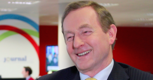 WATCH: Enda on changing his mind, not taking himself seriously and running for president…