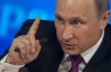 Kremlin: Putin's not ill, he could break your hand if he wanted to