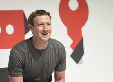 Mark Zuckerberg speaking last night