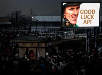 Tony McCoy won't be racing at Punchestown this year.