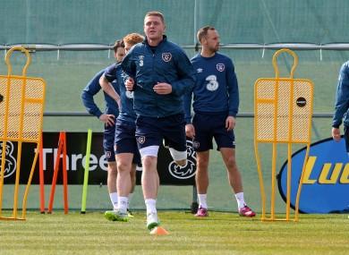 McCarthy took full part in training this week.