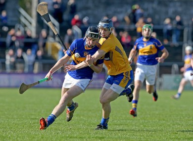 Tipperary's John McGrath (left) is fast making a name for himself