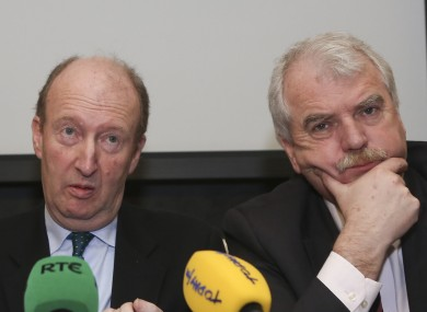 Shane Ross and Finian McGrath