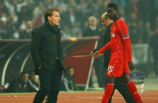 Balotelli claims 'someone doesn't like me' after being left on bench again