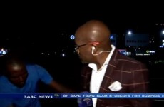 This TV reporter was robbed on camera by the most brazen muggers ever