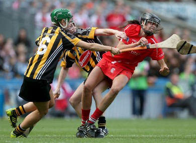 Orla Cotter was key for Cork in their camogie league win over Kilkenny today.