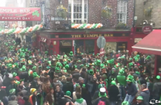 From packed pubs to lone survivors at 4am: See St Patrick's Day unfold in Temple Bar