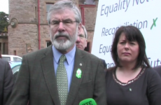 """""""Active abstentionists"""" – Adams rubbishes talk of Sinn Féin sitting in Westminster"""