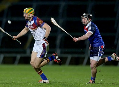 Dan Morrissey (left) and Pauric Mahony will renew acquaintances in Wednesday's Fitzgibbon Cup final replay