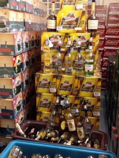 Look at all the alcohol gardaí seized from a shebeen in Galway