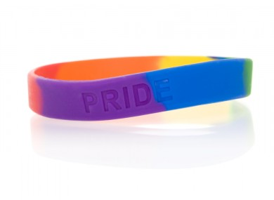 Gay pride arm bands