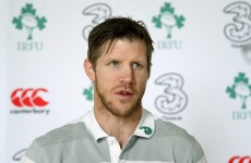 Simon Easterby: Any issues with Irish lineout have already been fixed