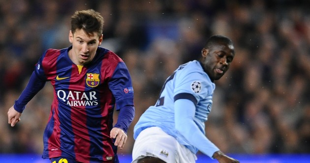 As it happened: Barcelona v Man City, Champions League