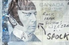 A bank in Canada is asking Star Trek fans to stop 'Spocking' fivers