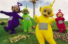 The Teletubbies in black and white will haunt your nightmares