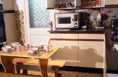 This hideous beige 1980s kitchen? It's now a museum piece