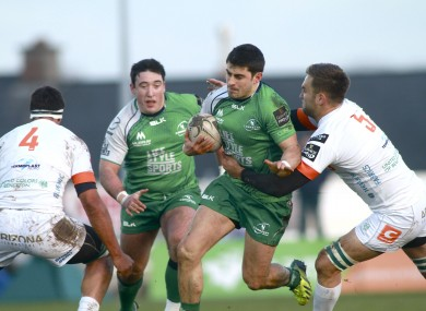 Connacht played an exciting brand of rugby at The Sportsgrounds this evening.