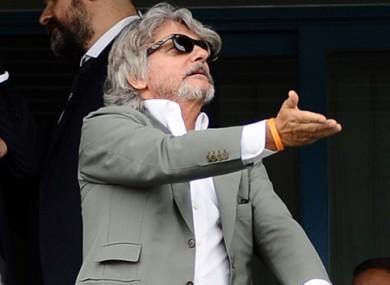 Massimo Ferrero has advised Rafa Benitez to see a dietician.