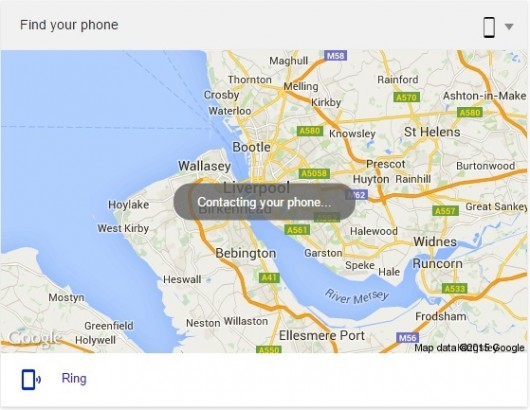Lost your phone now you can just google it