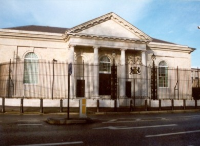 The Armagh Court Office, where two of the men will be appearing this morning