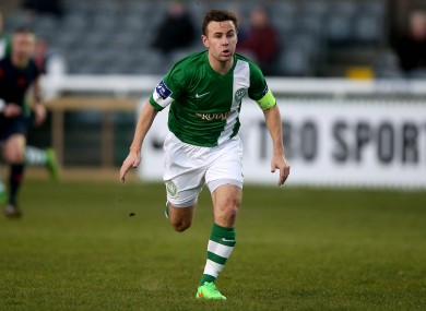 Bray captain David Cassidy scored a hat-trick.