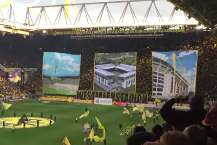Dortmund Fans Video Dortmund Fans Unveiled Another
