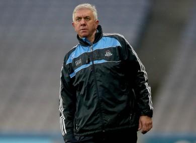 Dublin boss Ger Cunningham.