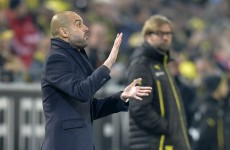 It's a mouthwatering European football weekend as Guardiola & Klopp clash