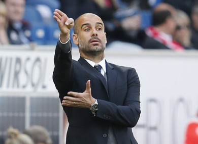 Guardiola's relationship with the Bayern medical staff was scrutinised this week.