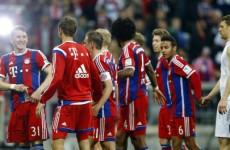 Bayern Munich just won their third straight Bundesliga crown on their day off