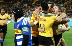 The Hurricanes scored a sensational try-of-the-season contender this morning