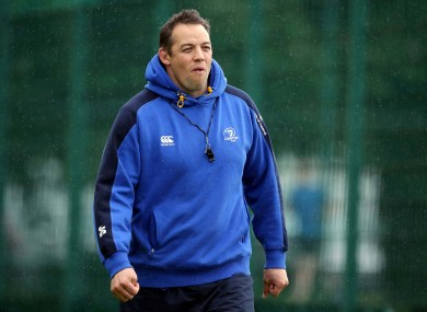 Gibbes was the Leinster forwards coach between 2008 and 2014.