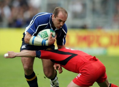 Gleeson was a big part of Leinster's success under Michael Cheika.