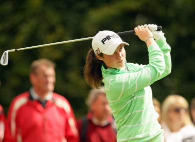 Leona Maguire in action.