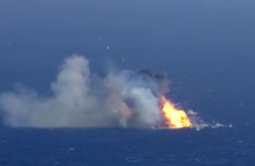 Video: SpaceX rocket floats down from the sky but is still blown to smithereens