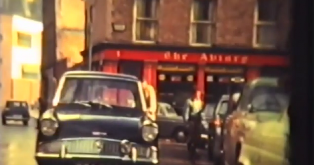 Old films 'hidden in biscuit tins' reveal life in Dublin during the 1960s