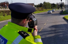 Ye have been warned: Gardaí are having a speed gun frenzy today
